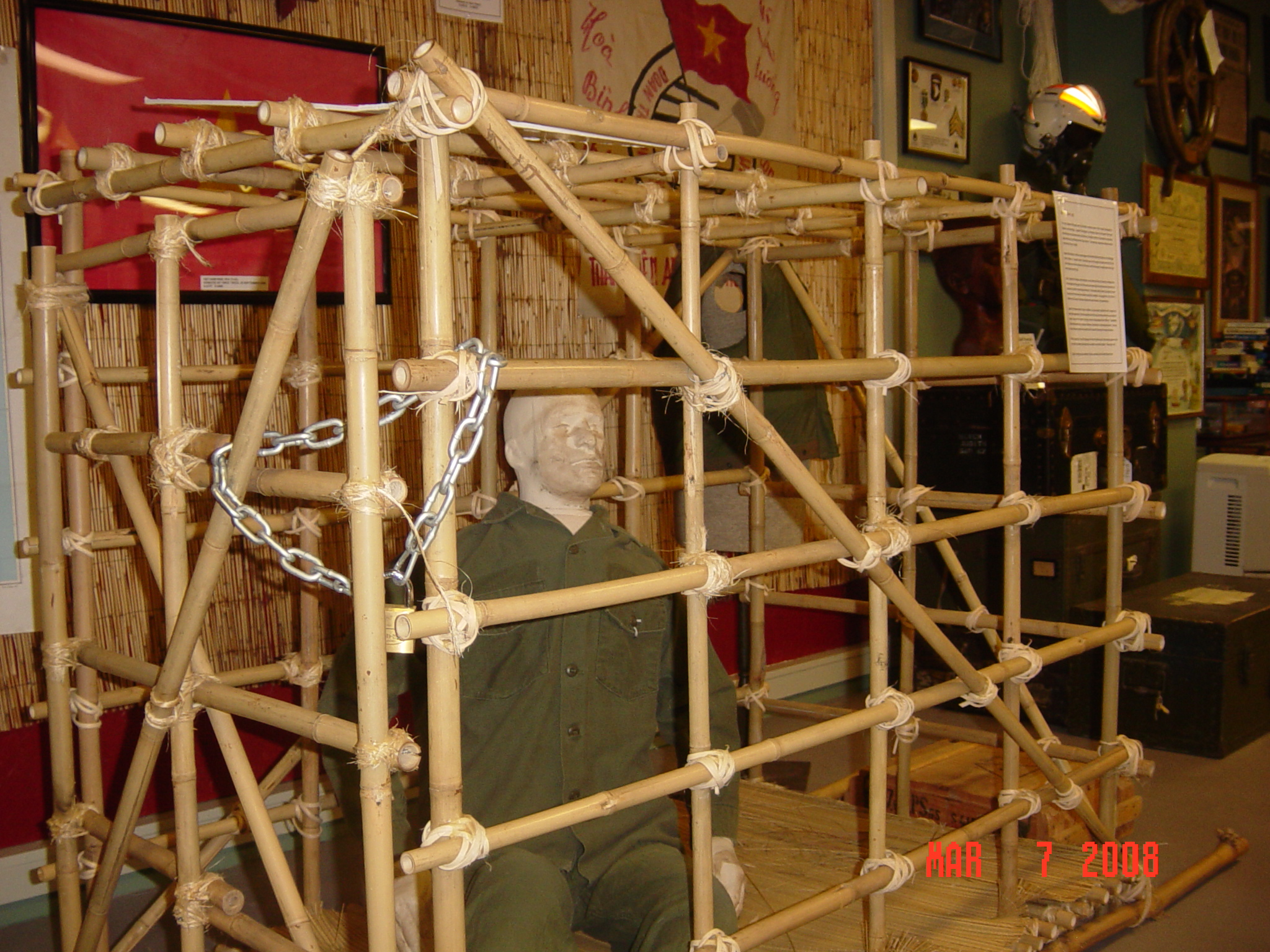 Photos from military heritage and aviation museum in punta gorda florida - Tiger in cage images ...