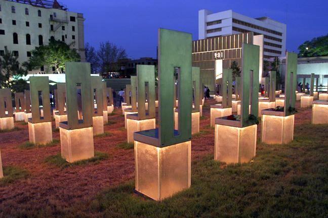 A tribute to the oklahoma city national memorial for Pool show okc